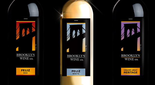 Brooklyn Wine Company Label Collection