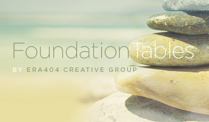 FoundationTables WordPress Plugin