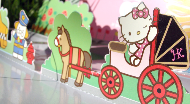 Hello Kitty Card Detail