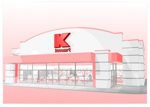 KMart - Virtual Store & Abstract Product Placement Pedestals