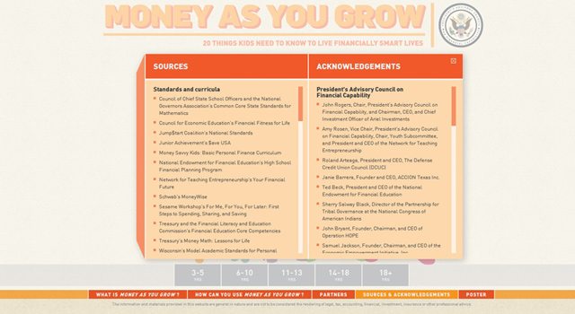 Money As You Grow - Lightbox