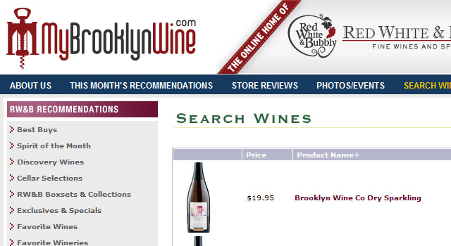MyBrooklynWine - Catalog