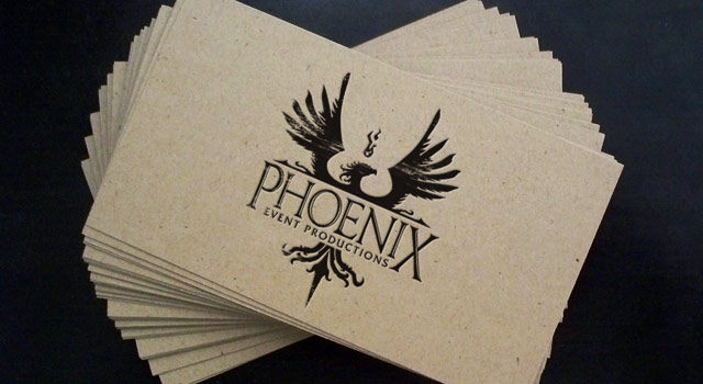 Phoenix Event Productions - Stationery
