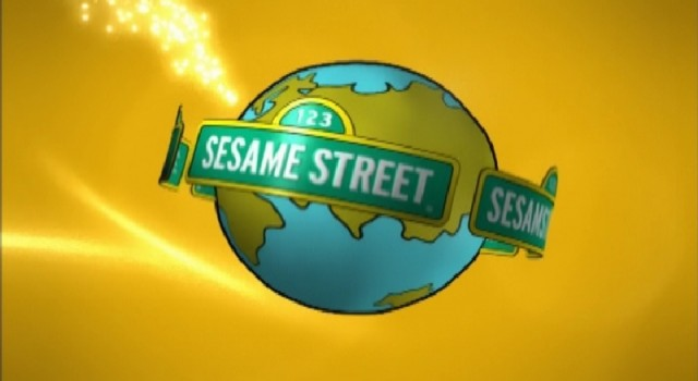 Sesame Street - Around the World - Graphic Logo Animation