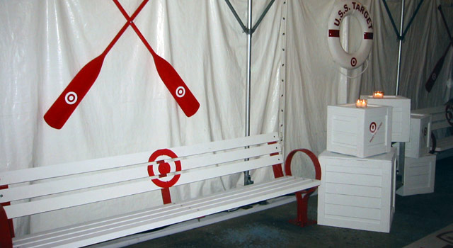 USS Target - Tent Photo