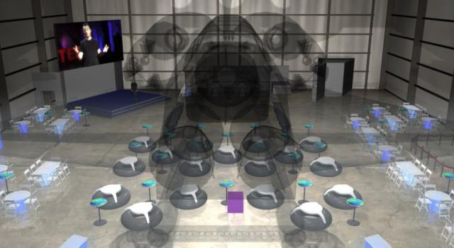 Event Rendering: Space Shuttle Pavilion