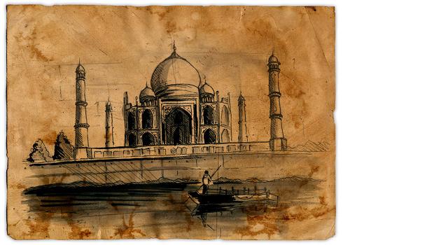 Global Investment Literacy Book - Taj Mahal