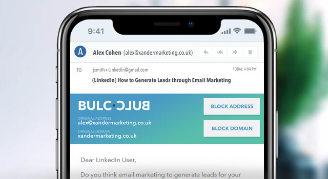 BULC CLUB: Eliminate Spam with Social Networking