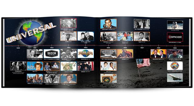NBC/Universal - Book Design