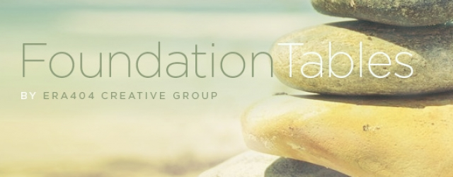 FoundationTables WordPress Plugin