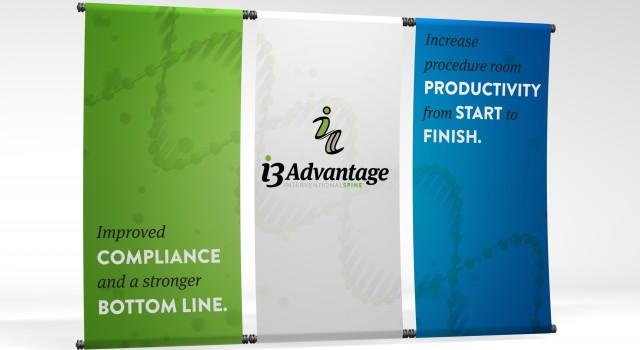 i3 Advantage Tradeshow Banners