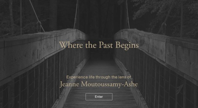 Jeanne Moutoussamy Ashe - Collection Page