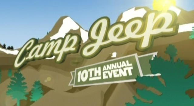 Camp Jeep - Television Ad Graphics