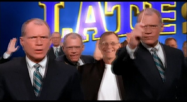 The Late Show with David Letterman - Promo composite