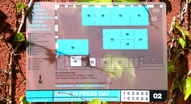 RANDM - Press Day Invitation
