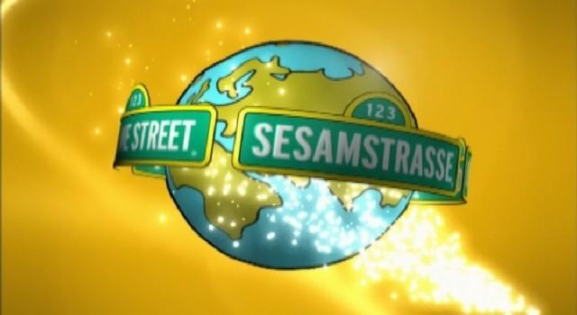 Sesame Street - Around the World - Graphic Logo Animation