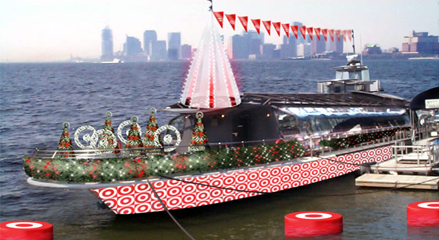USS Target - Boat Rendering